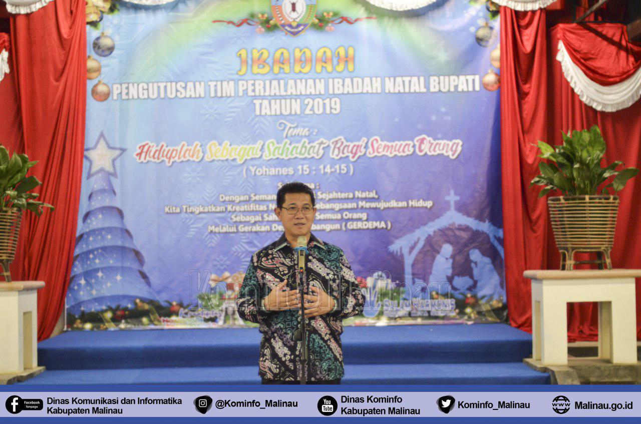 pengutusan-tim-perjalanan-ibadah-natal-bupati-malinau-tahun-2019