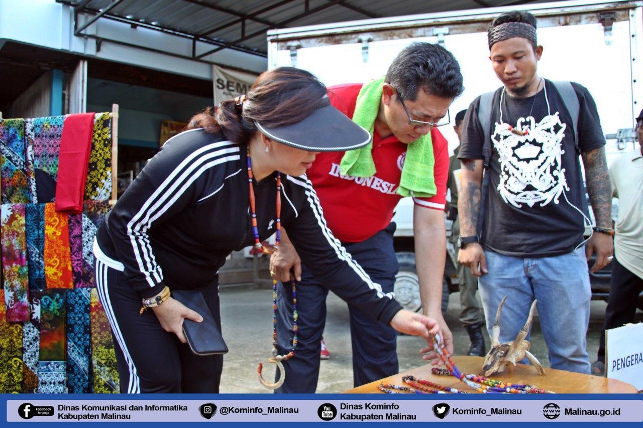 kecamatan-malinau-kota-gelar-car-free-day--bupati-yansen-tp-berpesan-agar-budayakan-menggunakan-produk-lokal-malinau