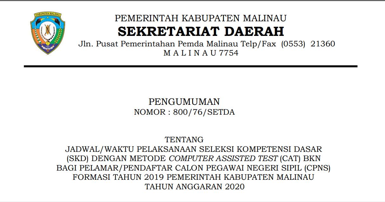 jadwal-waktu-pelaksanaan-seleksi-kompetensi-dasar-skd-calon-pegawai-negeri-sipil-cpns-formasi-tahun-2019-pemerintah-kabupaten-malinau-tahun-anggaran-2020